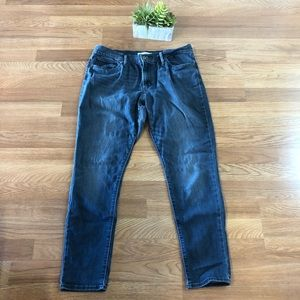 Levi's slimming skinny high rise jeans 32